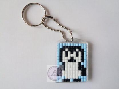 Penguin Mini Mosaic Keyring
