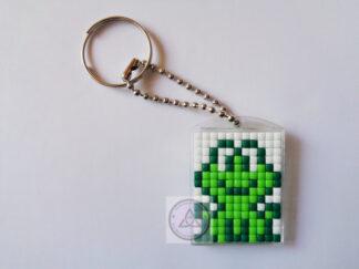 Frog Mini Mosaic Keyring