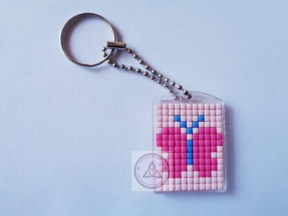 Butterfly Mini Mosaic Keyring