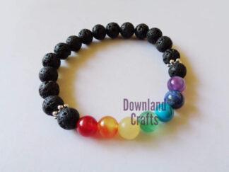 Chakra Gemstone Stretch Bracelet