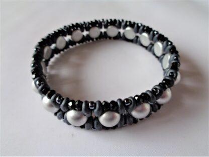 Lily Multirow Bracelet - Silver
